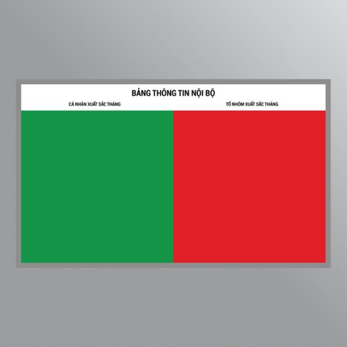 Bảng Combo 2 mặt có thiết kế đa dạng về kích thước cũng như tính năng