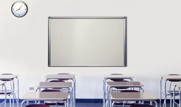 Bảng từ trắng sử dụng nguồn chất liệu cao cấp với độ bền cao